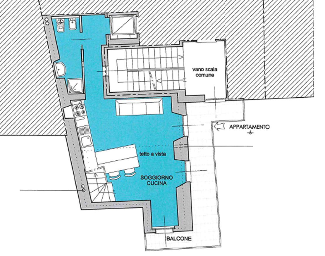 Piantina appartamento 6