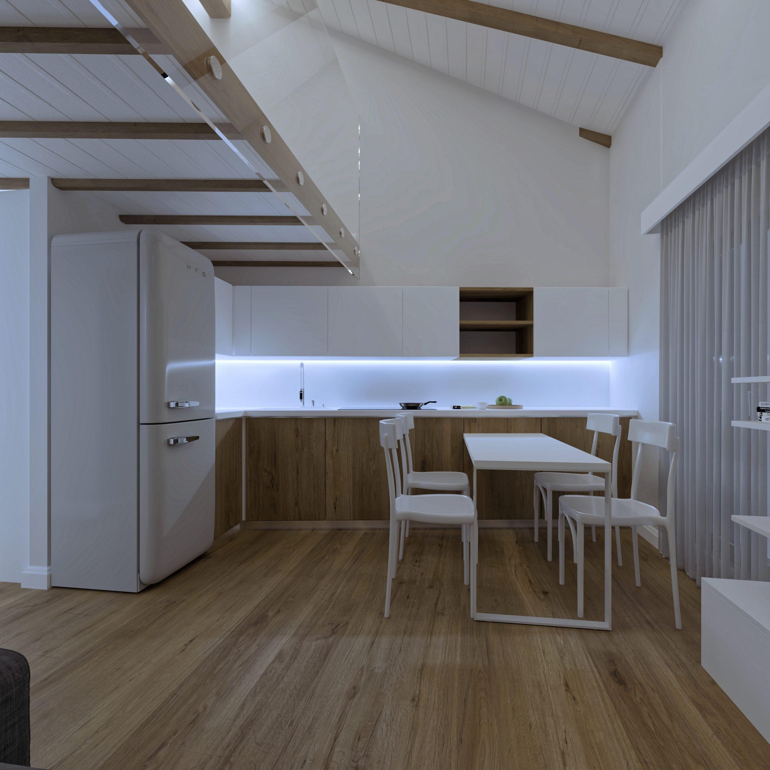 Cucina appartamento 7