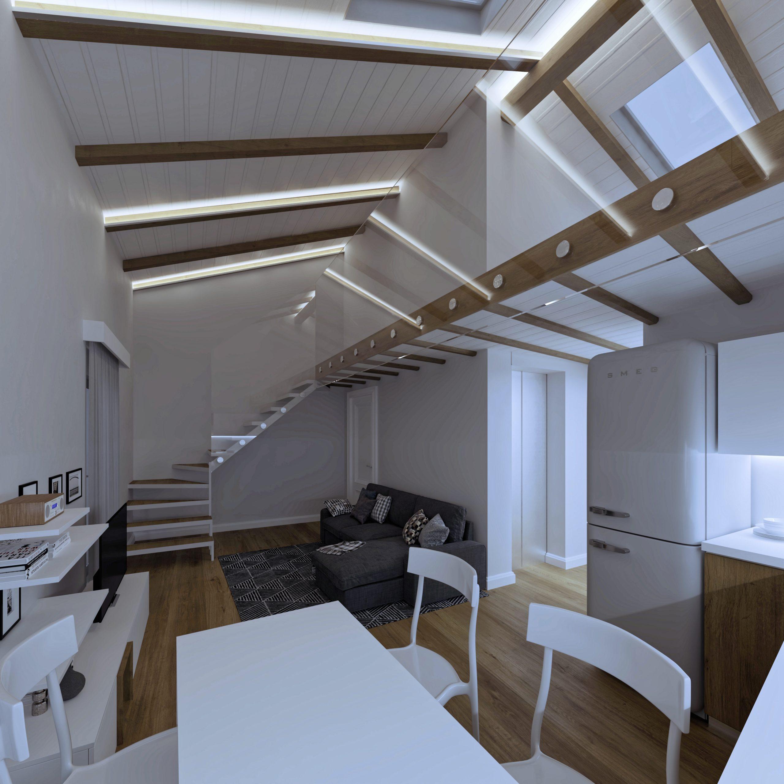 Sala appartamento 7